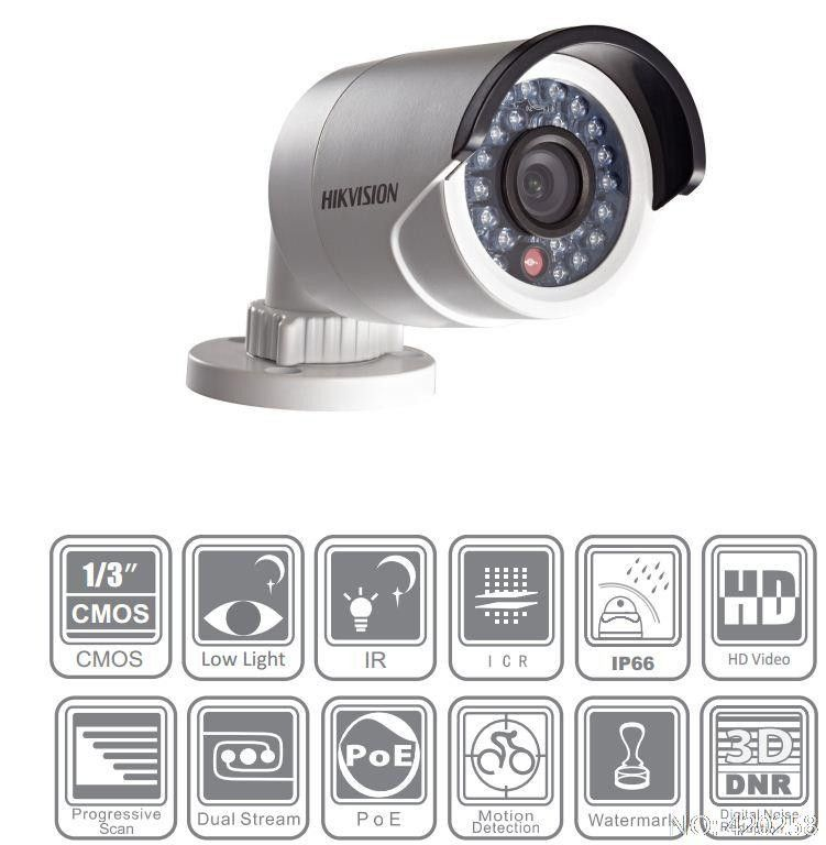 IP камера HIKVISION DS-2CD2052-I 4mm