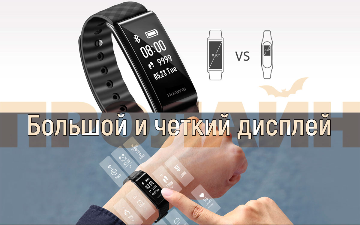 Фитнес-браслет Huawei Honor Band A2 Magic Black (Glory Play Bracelet)