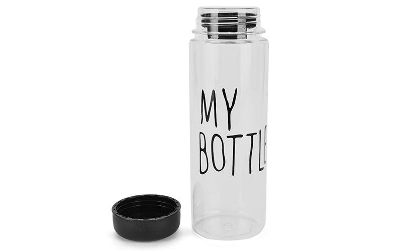 Бутылка для воды My Bottle 500 мл Black (черная)