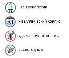 Миниатюрный фонарь LED