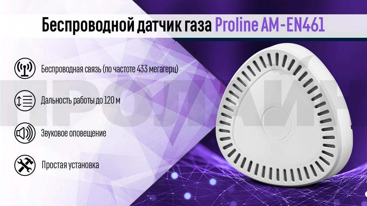 Беспроводной датчик газа Proline AM-EN461
