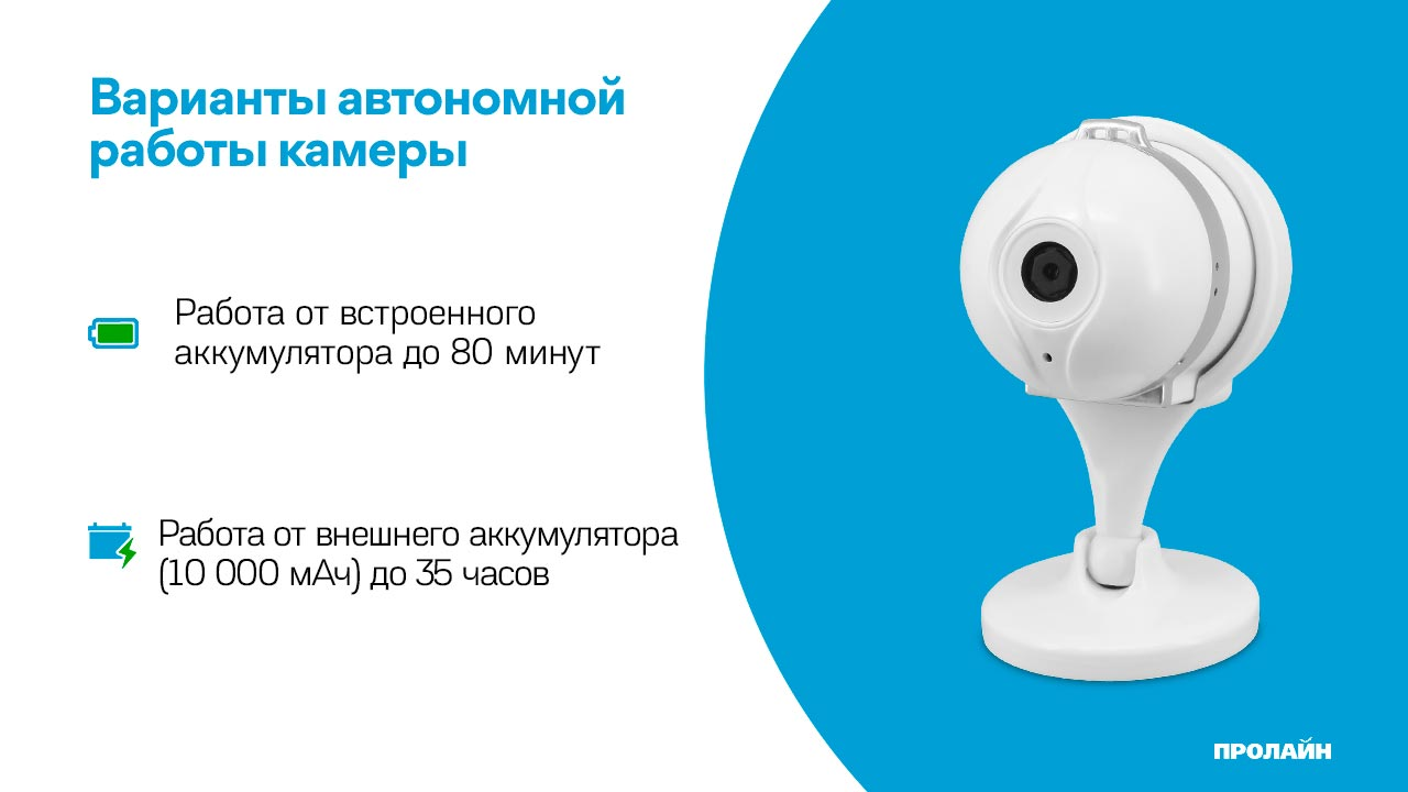 Внутренняя IP-камера Proline IP-HC100AS AiSee White