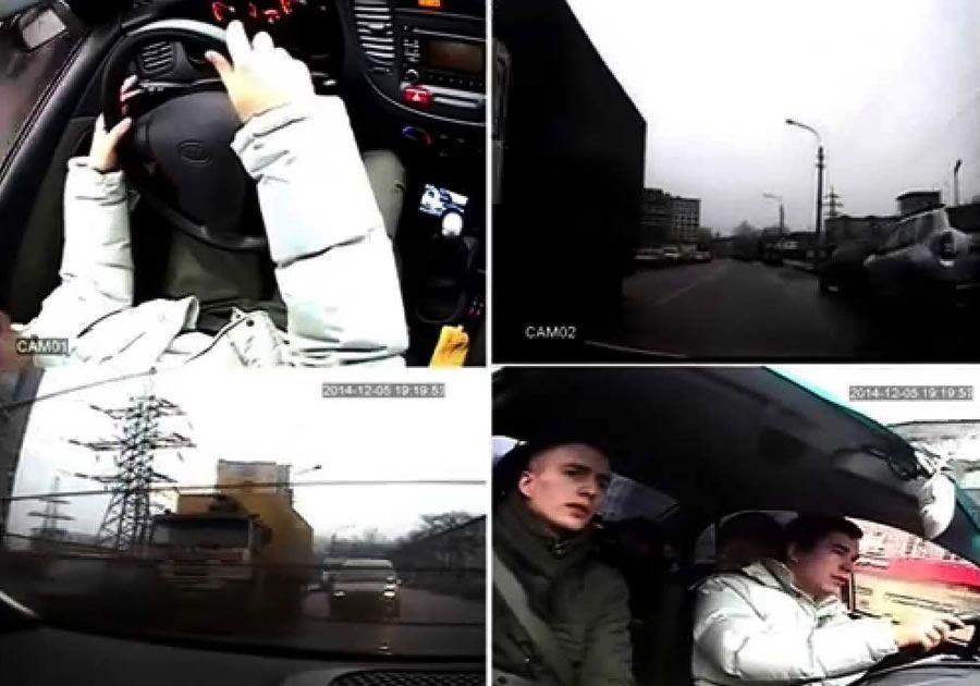 Комплект видеонаблюдения для автошколы Proline KIT-8216-41