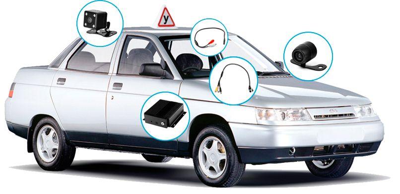 Комплект видеонаблюдения для автошколы Proline KIT-8216-42