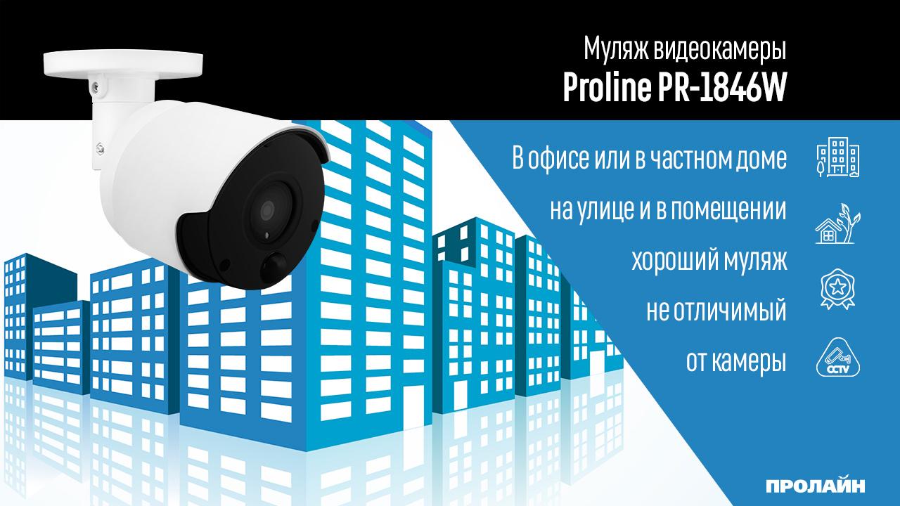 Муляж видеокамеры Proline PR-1846W