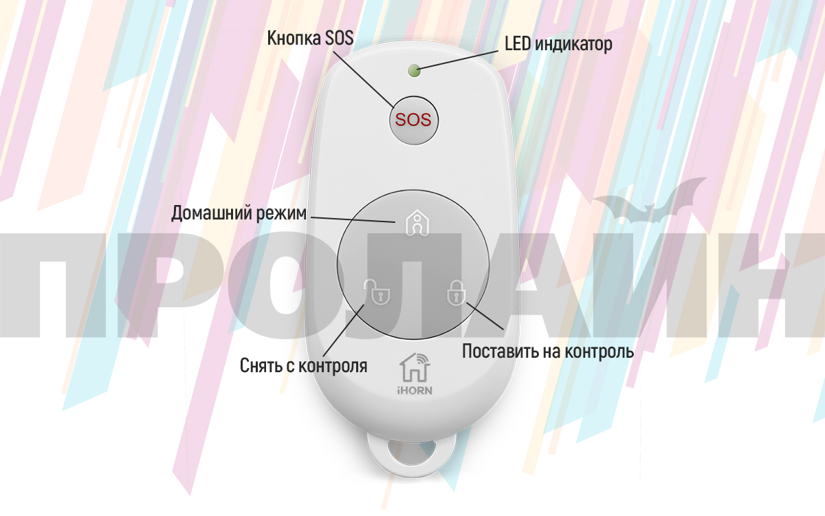 Беспроводной пульт управления Proline PR-B910F