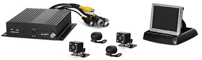 Пример камеры Proline PR-C781F PAL в комплекте для автошколы