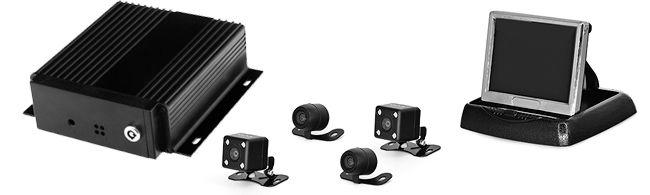 Пример камеры Proline PR-C786F NTSC в комплекте для автошколы