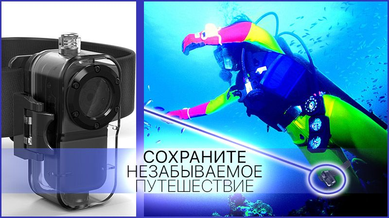 Экшн камера Proline PR-DV38F