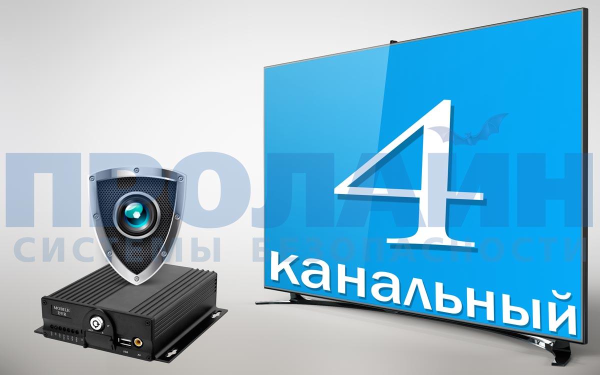 Автомобильный HD-видеорегистратор Proline PR-MRA6504DG-W
