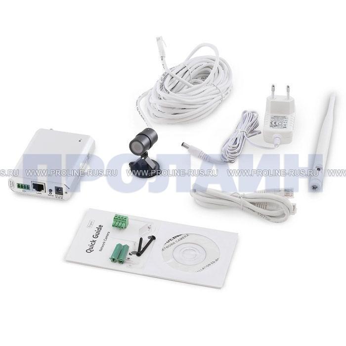 Миниатюрная IP камера с GSM модулем Proline PR-NC129G Black