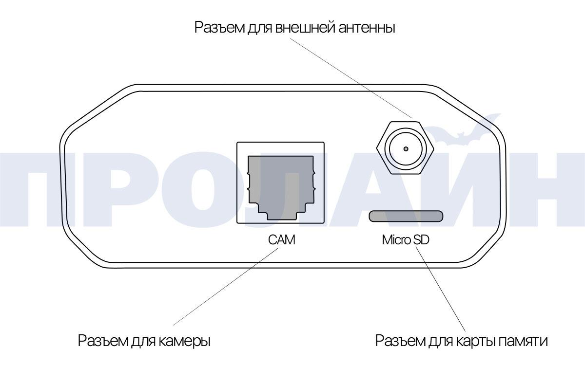 Миниатюрная IP-камера Proline PR-NC133SG Silver