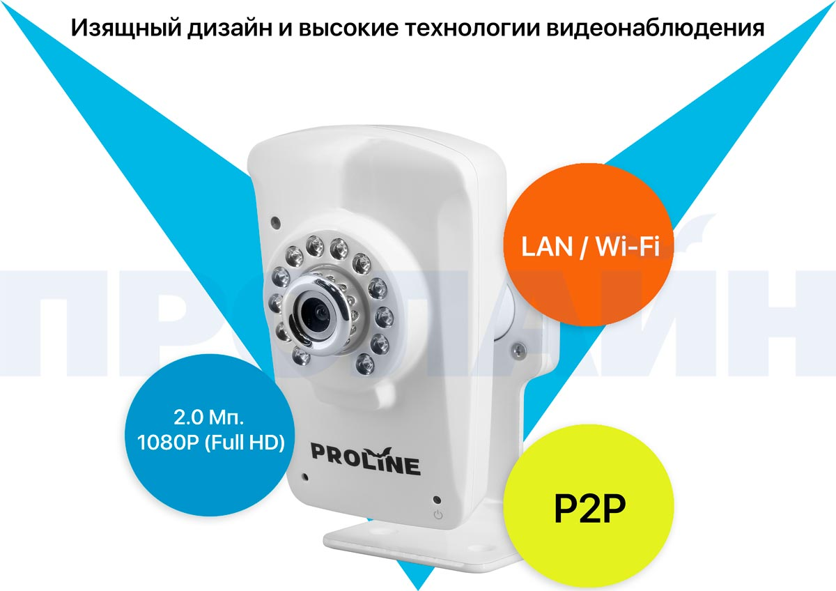 Внутренняя IP камера Proline PR-NC233SW