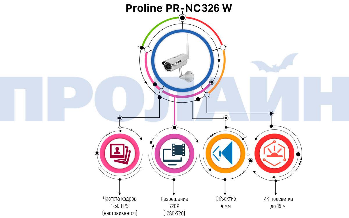 Уличная IP камера Proline PR-NC326W