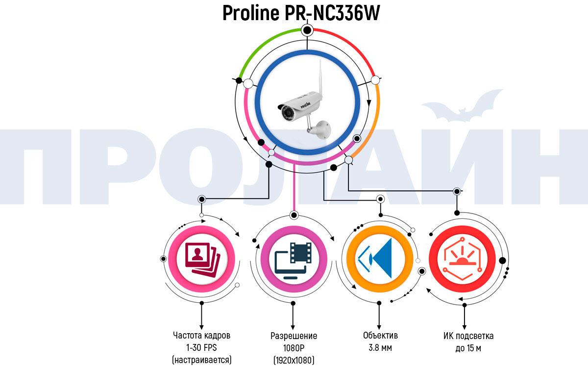 Уличная IP камера Proline PR-NC336W