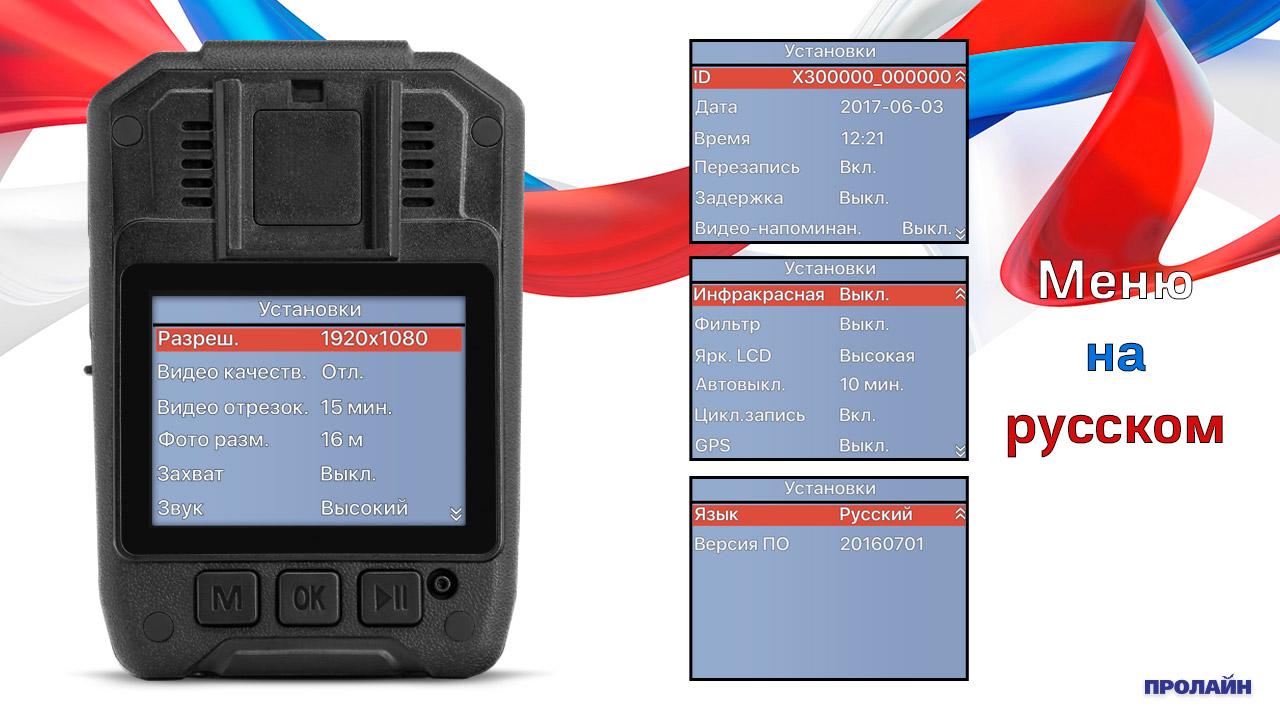 Персональный видеорегистратор Proline PR-PVR079-64