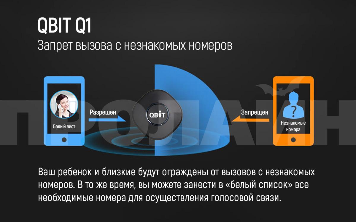 Персональный GPS-трекер QBIT Q1