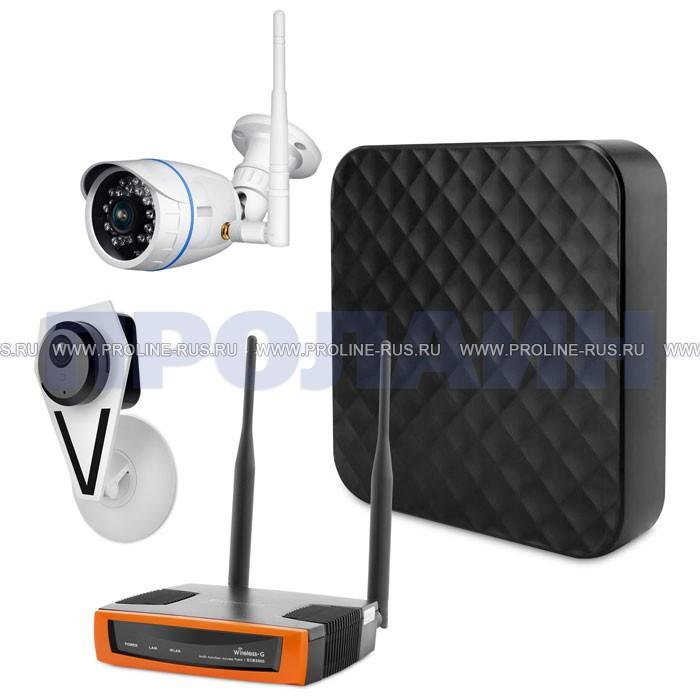 Комплект WiFi видеонаблюдения Qvint KIT Room and Street