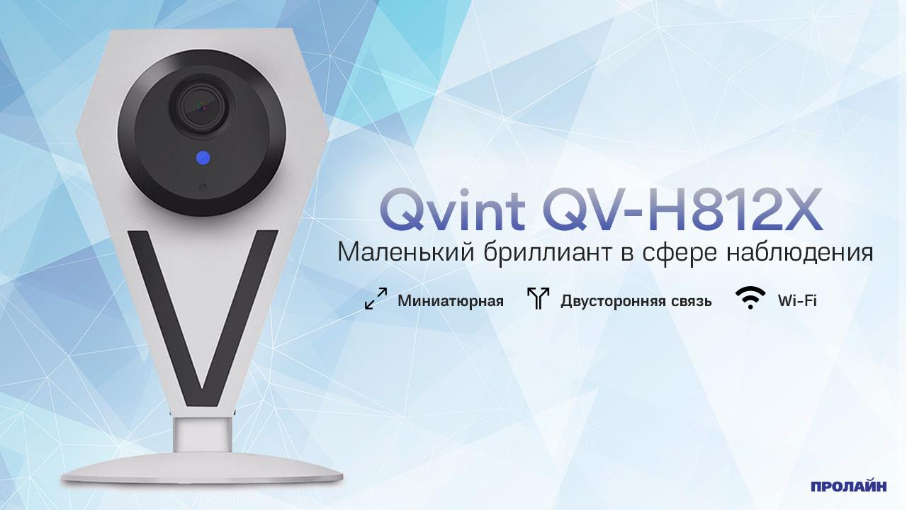Внутренняя IP-камера Qvint QV-H812X