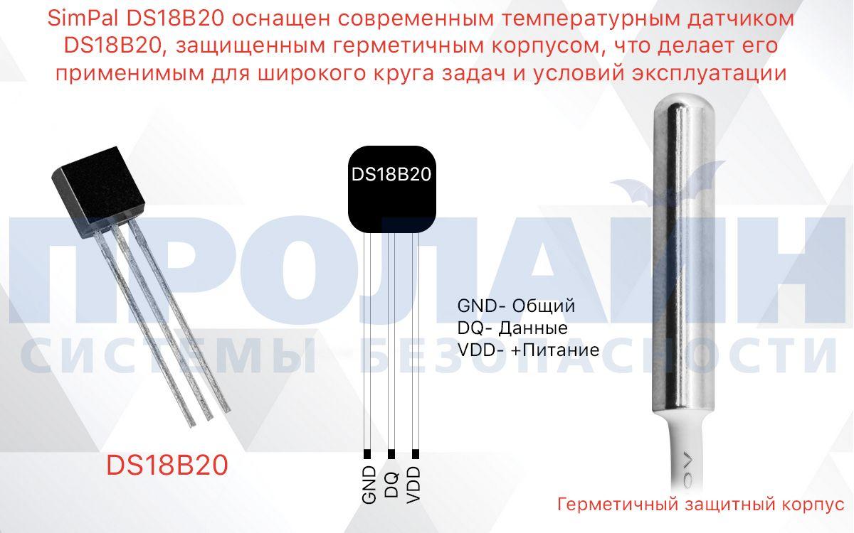 SimPal DS18B20