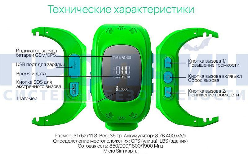 Smart Baby Watch Y3