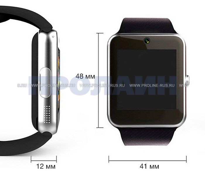 Умные часы Smart Watch GT08 Black