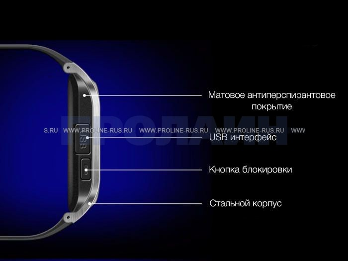 Дизайн Smart Watch GV18 White