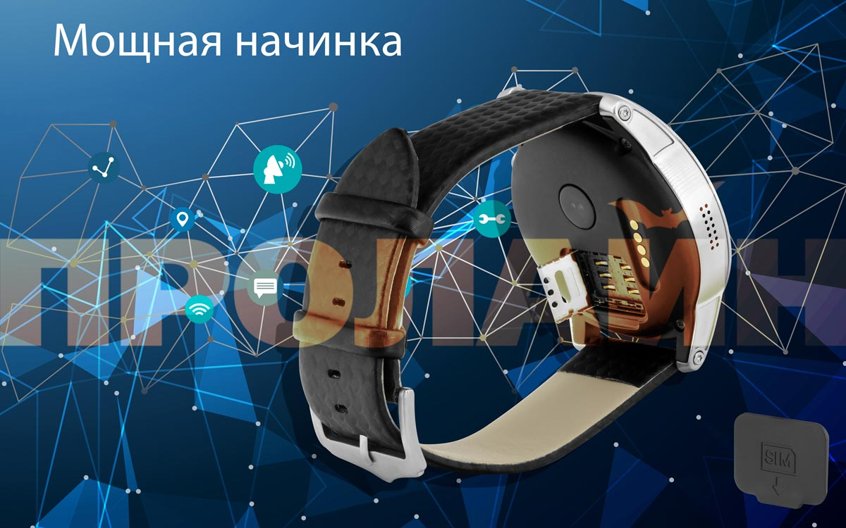 Умные часы Smart Watch KW99 Black