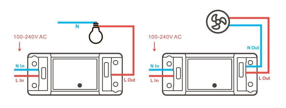 Умный WiFi выключатель Sonoff Basic R2