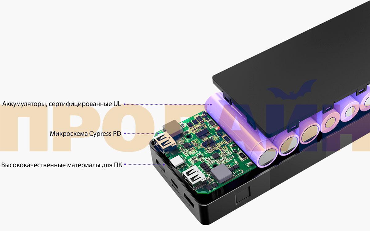 Внешний аккумулятор Tronsmart Brio PBD20 B