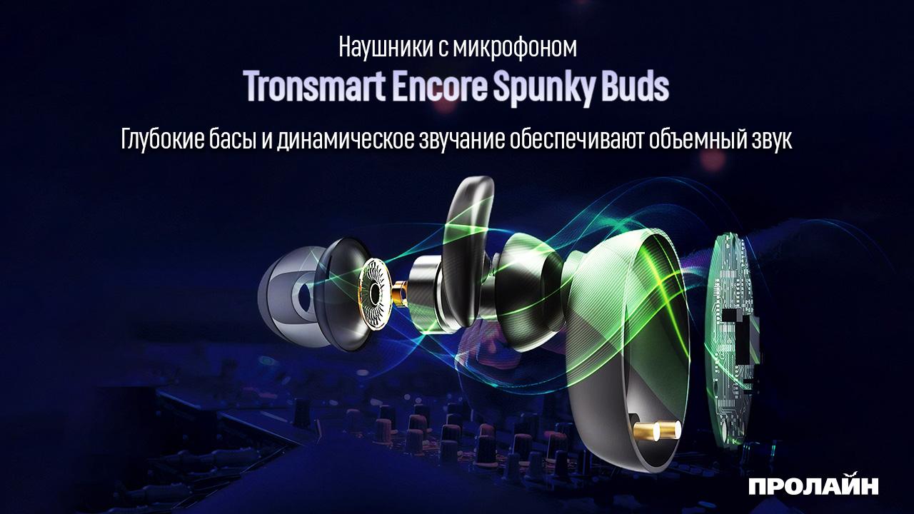 Наушники с микрофоном Tronsmart Encore Spunky Buds