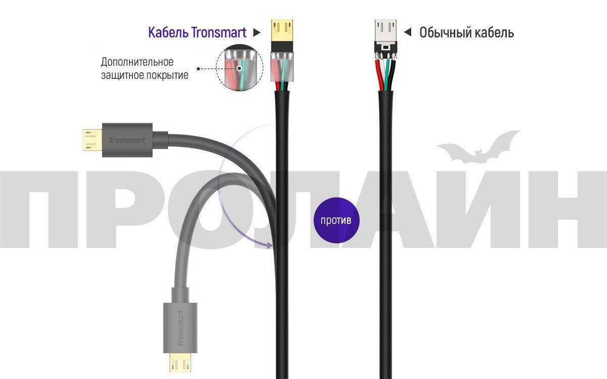 Комплект 3 кабелей Tronsmart MUPP2