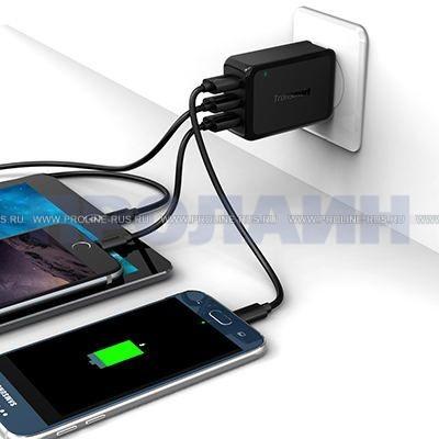 Зарядное устройство с поддержкой быстрой зарядки Tronsmart TS-W3PTA