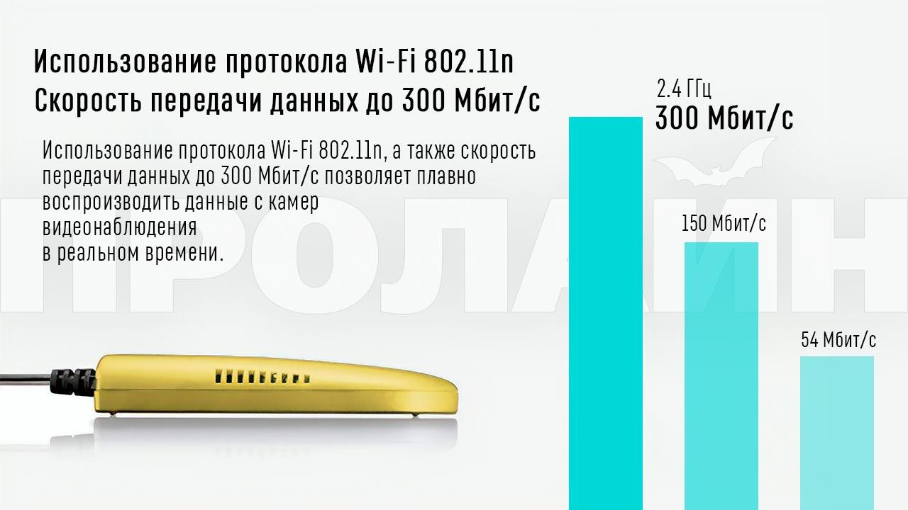Wi-Fi репитер и точка доступа Vonets VAP11G-500 золотого цвета