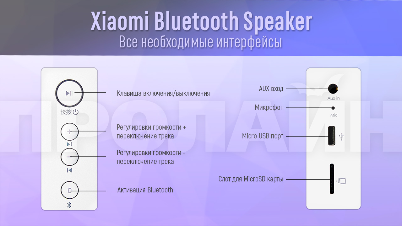 Портативная акустика Xiaomi Bluetooth Speaker Red