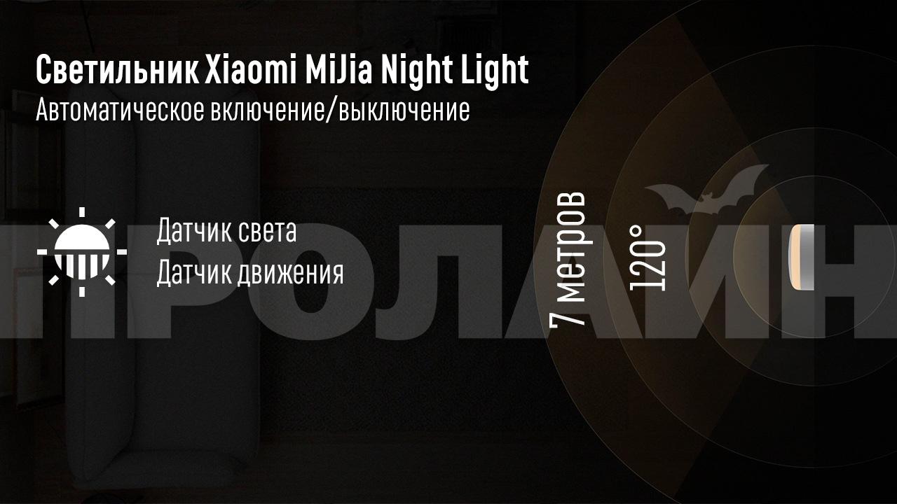 Умный светильник Xiaomi MiJia Night Light