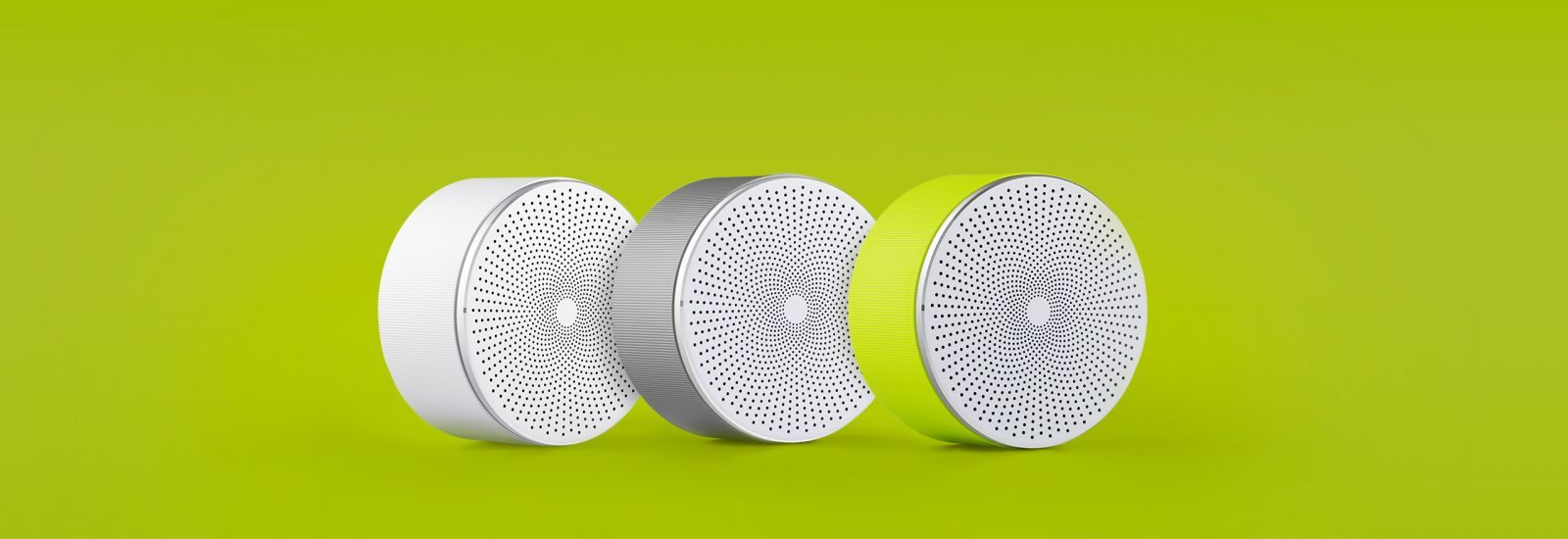 Портативная акустика Xiaomi Round Bluetooth Speaker Youth Edition White