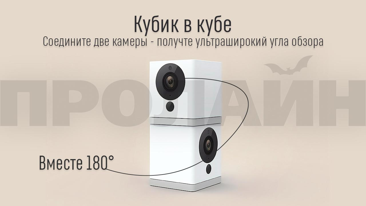 Домашняя Wi-Fi камера Xiaomi Small Square Smart Camera