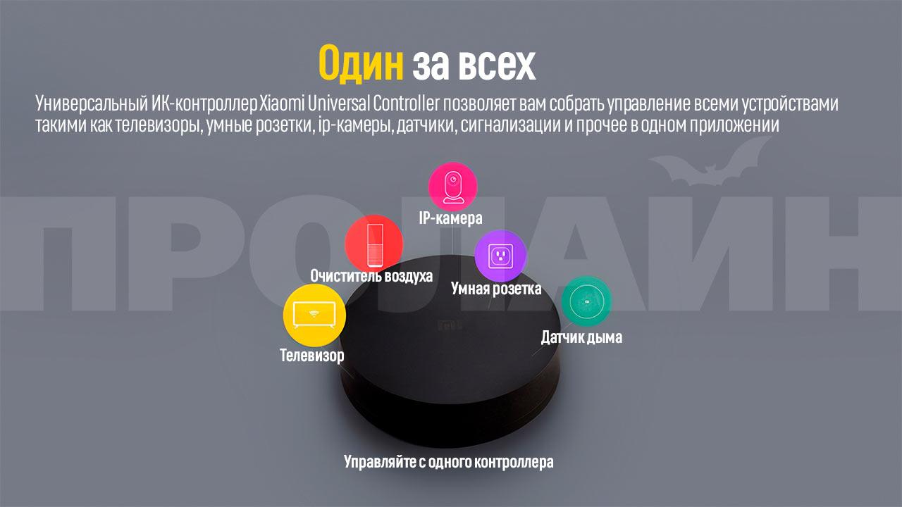 Универсальный ИК-контроллер Xiaomi Universal Controller