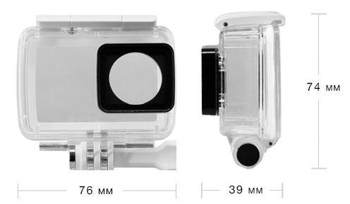Влагозащитный кейс для Xiaomi YI 4K Action Camera
