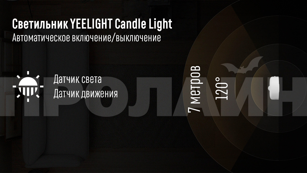 Умный светильник Xiaomi YEELIGHT Smart Night Light