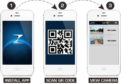 Подключение с телефона или планшета в 3 шага: