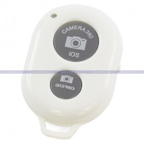 Bluetooth Remote Shutter Camera 360 (white)