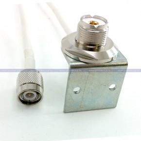 PL(м) - TNC(п) с угловым кронштейном
