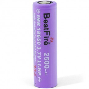 Best Fire IMR18650 2500mAh 35A-20C