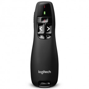 Logitech Wireless Presenter R400 Black USB