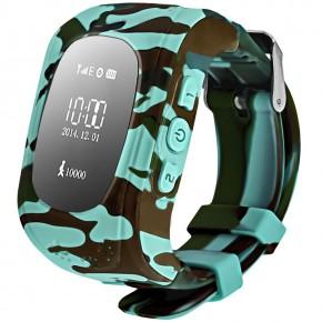 Smart Baby Watch Q50 Camo Green