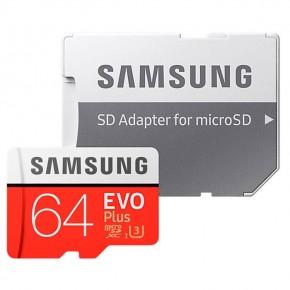 Samsung EVO Plus MicroSDXC 64Gb UHS-I U3 Class 10