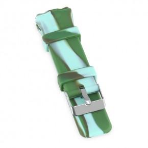 Ремешок силиконовый Smart Baby Watch Q50 Camo Green
