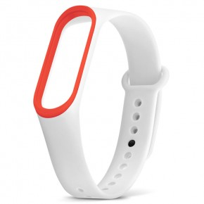 Xiaomi Mi Band 3 белый с красным
